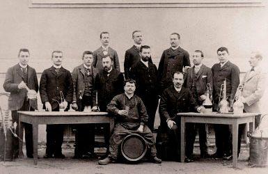 Les premières écoles de brasserie
